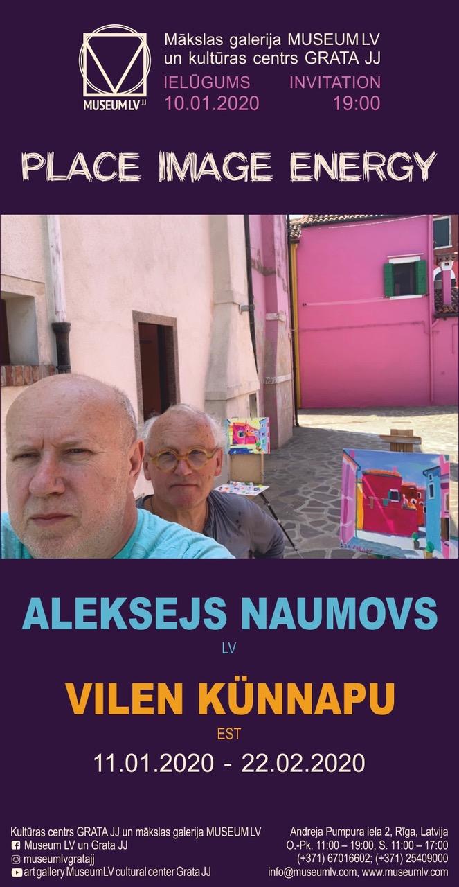 Aleksejs Naumovs ja Vilen Künnapu näitus