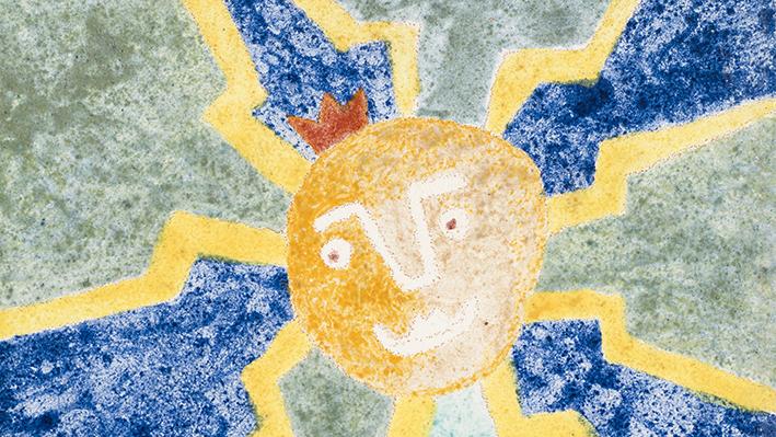 Adamson-Eric. Dekoratiivplaat. 1962-1968