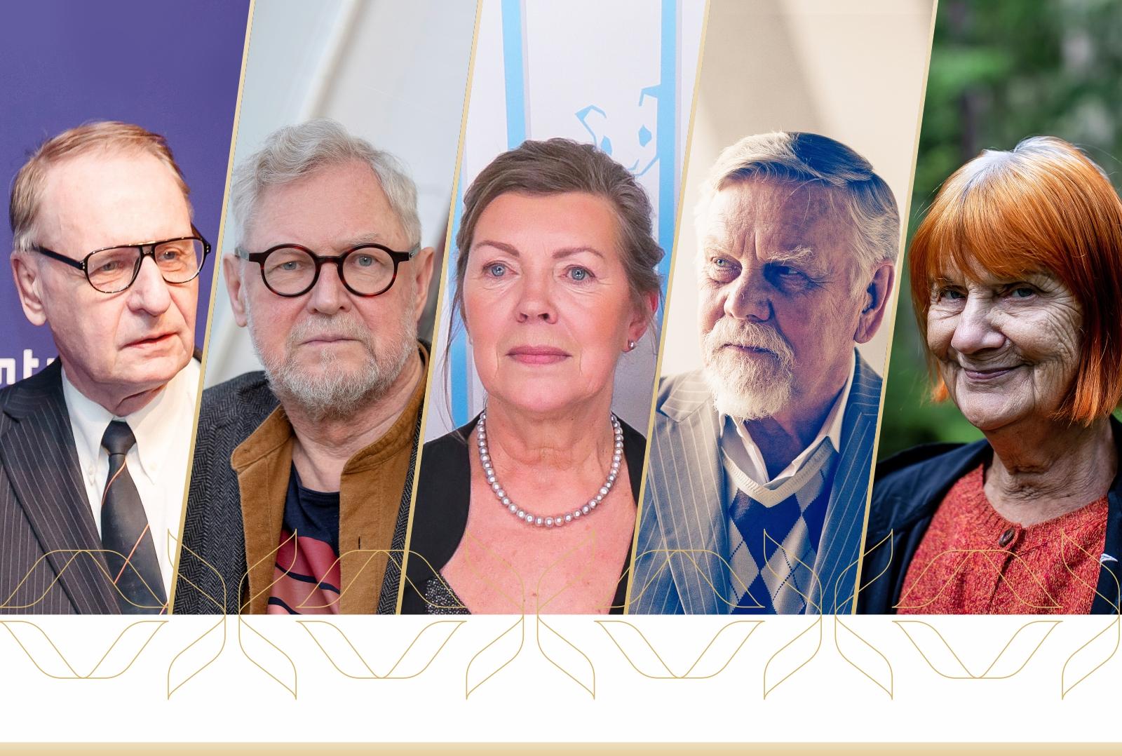 Gunnar Paal, Õnne Pollisinski, Tiit Pääsuke, Enn Säde, Eha Komissarov