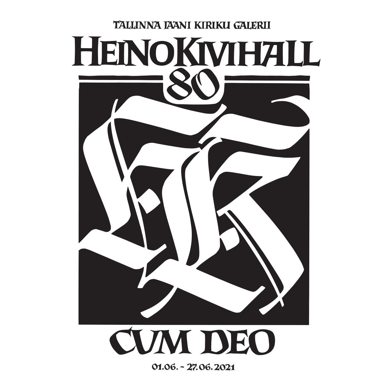"""Heino Kivihalli Isikunäitus """"Cum Deo"""""""