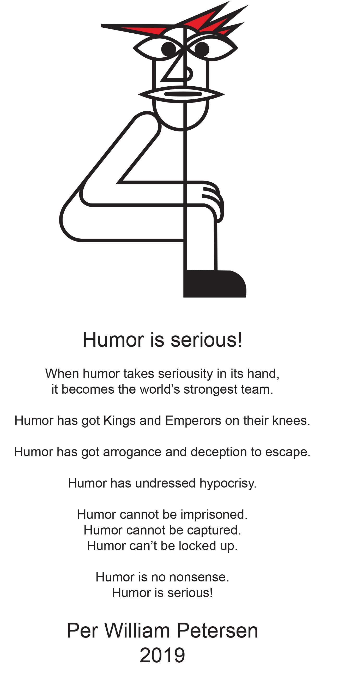 Humor is serious