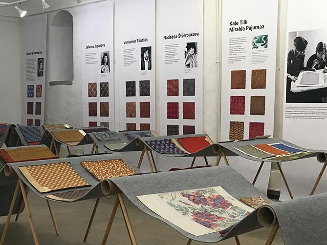Näitus Kreenholmi tekstiilidisainist Narva Muuseumis