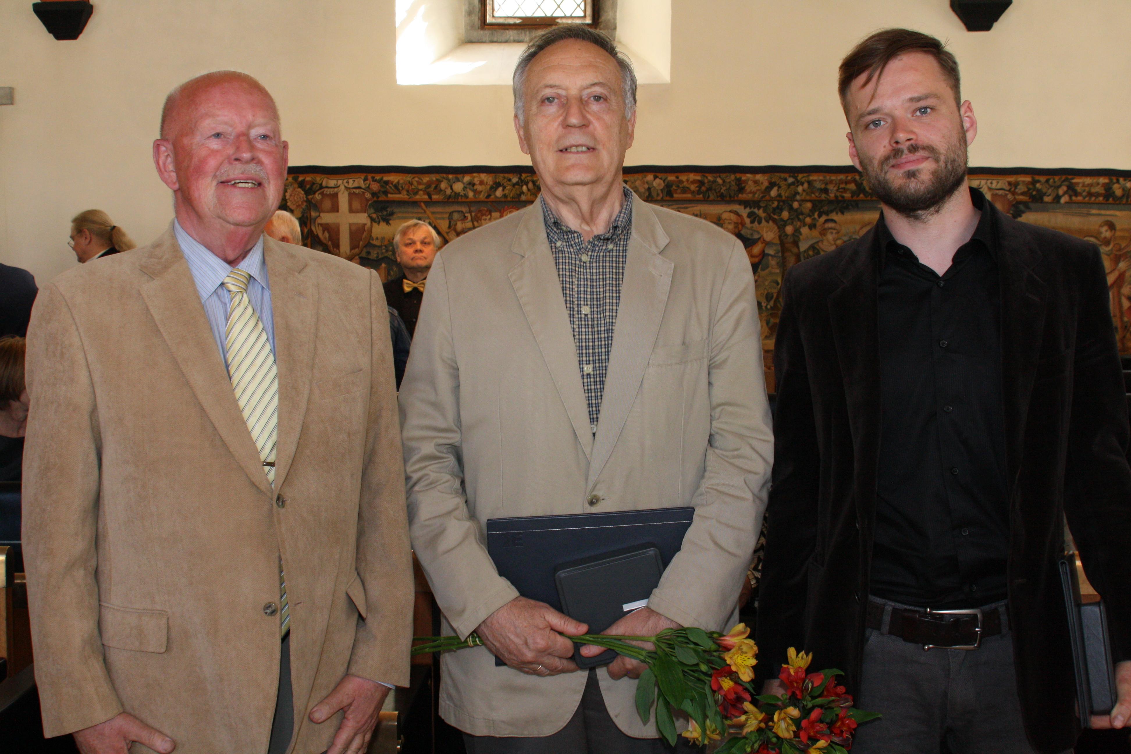 Laureaadid 2016: Peeter Kuutma, Jaak Kangilaski, Nils Hint