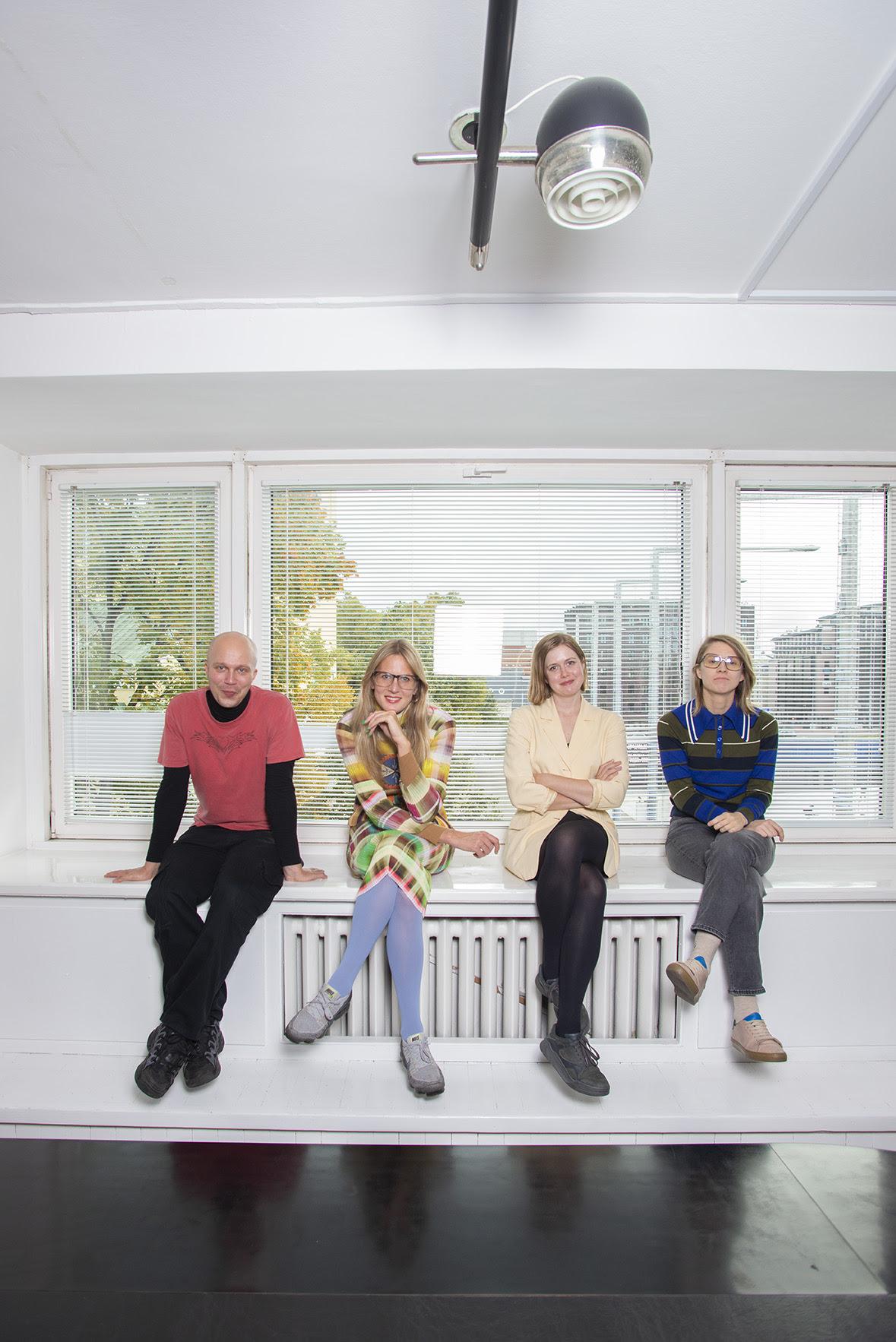 KKEKi tiim: Sten Ojavee, Maria Arusoo, Kaarin Kivirähk ja Marika Agu. Foto: Dénes Farkas