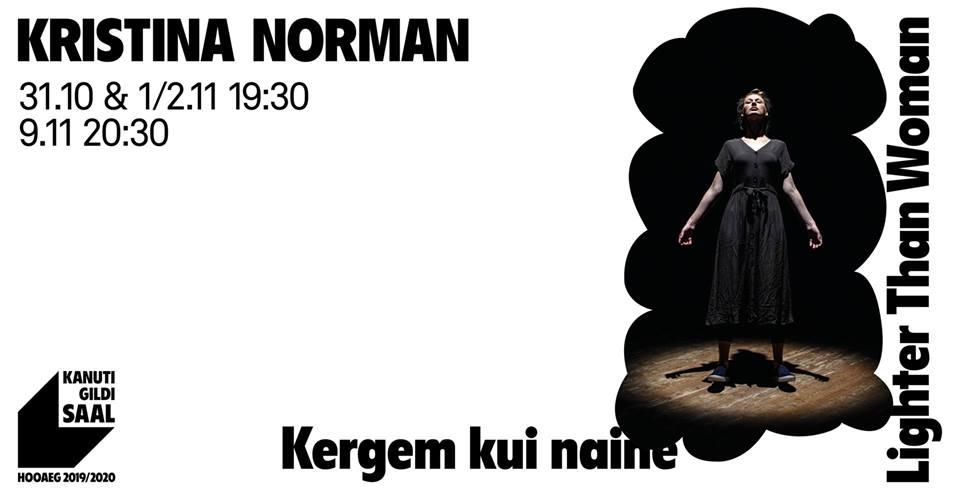 "Kristina Norman ""Kergem kui naine"""