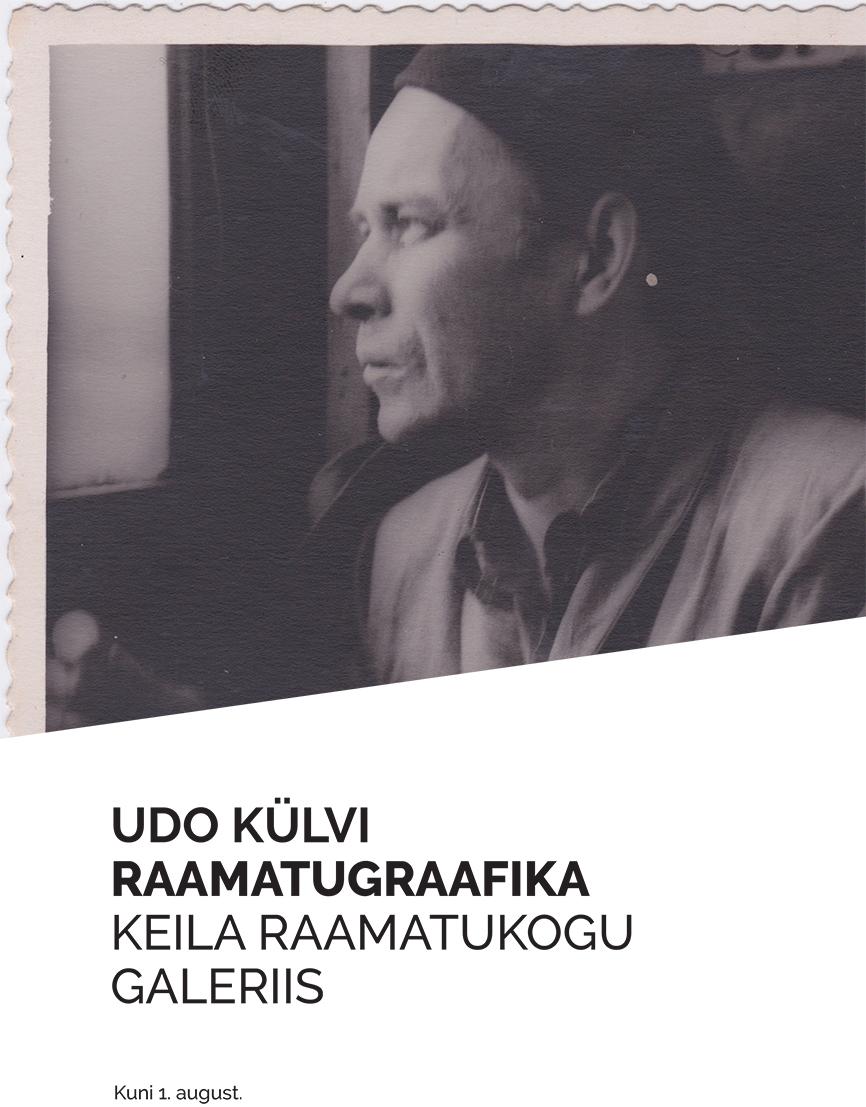 Udo Külvi raamatugraafika näitus