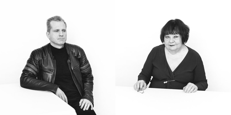 """""""Geomeetria ja metafüüsika"""" vestlus näituse autorite Mare Vindi ja Arne Maasikuga"""