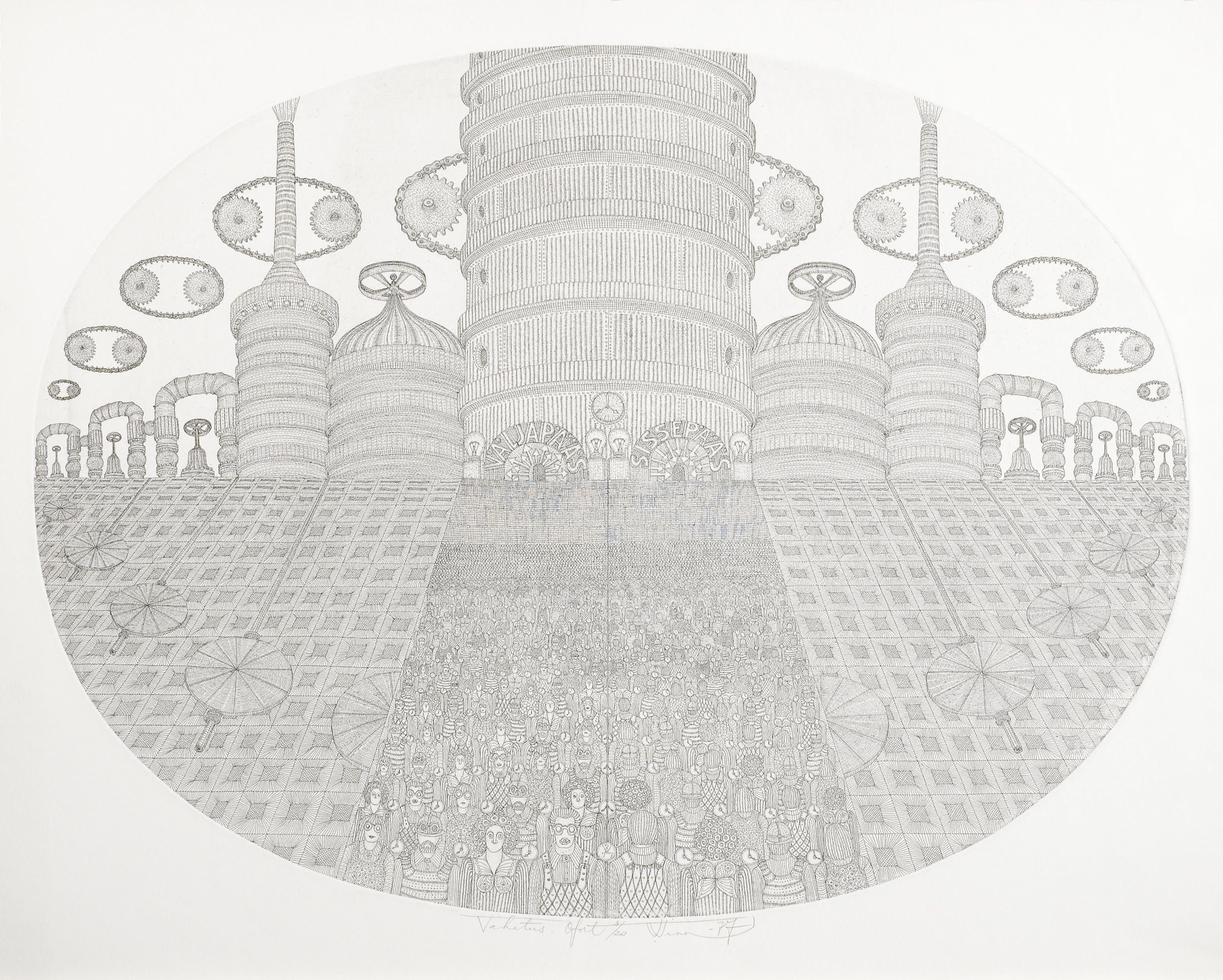 """Vello Vinn """"Vahetus"""" 1977"""