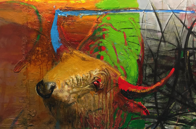 """Tiit Pääsukese näitus """"Härjad rukkis ja muud"""""""