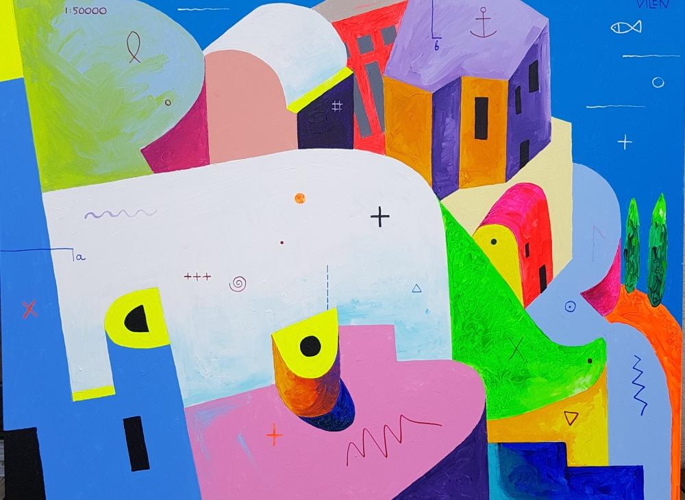 """Vilen Künnapu's personal exhibition """"Everyday Atlantis…"""""""