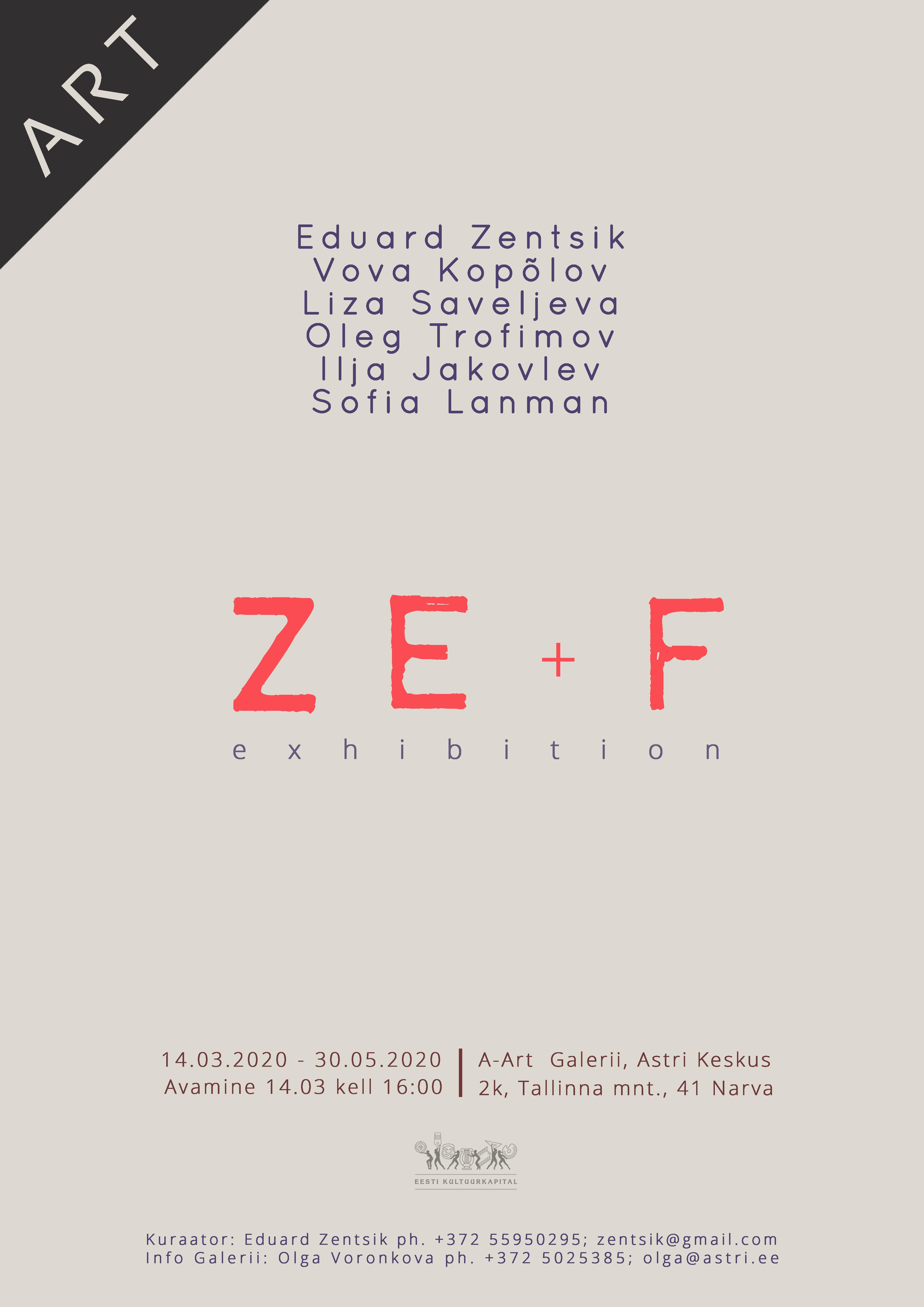 "Ida-Virumaa uus kunst näitusel ""ZE+F"""